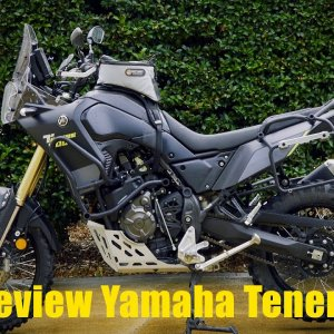 Review Yamaha Tenere 700 Motorcycle Adventure Dirtbike TV